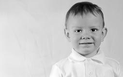 Bambino piacevole Fotografia Stock