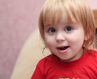 Bambino piccolo Fotografie Stock Libere da Diritti