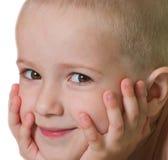bambino piccolo che sorride Immagine Stock Libera da Diritti