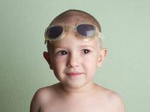 bambino piccolo che sorride Fotografie Stock Libere da Diritti