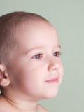 bambino piccolo che sorride Fotografia Stock