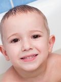 bambino piccolo che sorride Immagine Stock