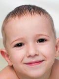 bambino piccolo che sorride Fotografie Stock