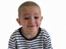 bambino piccolo che sorride Fotografia Stock Libera da Diritti