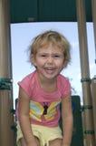 Bambino piccolo di risata Fotografia Stock