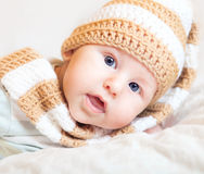 Bambino piccolo sveglio Fotografia Stock Libera da Diritti
