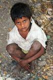 Bambino povero fotografia stock