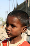 Bambino povero Daydreaming immagini stock libere da diritti