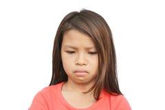 Bambino povero triste fotografia stock