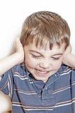 Bambino ribelle Fotografia Stock Libera da Diritti