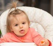 Bambino Ritratto consumo cute Ragazza fotografie stock libere da diritti