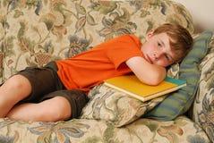 Bambino sonnolento Fotografia Stock Libera da Diritti