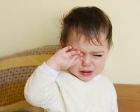 Bambino sonnolento immagine stock libera da diritti