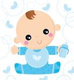 Bambino sopportato Fotografia Stock