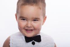 Bambino sorridente Fotografie Stock Libere da Diritti