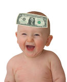 Bambino del dollaro Fotografia Stock Libera da Diritti