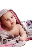 Bambino sotto il tessuto 2 fotografia stock libera da diritti