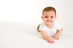 Bambino strisciante   Fotografia Stock Libera da Diritti