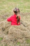 Bambino sul giardino Fotografie Stock Libere da Diritti