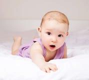 Bambino sulla base Fotografia Stock Libera da Diritti