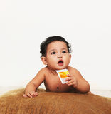 Bambino sveglio Fotografie Stock Libere da Diritti