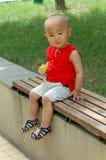 Bambino sveglio Fotografia Stock