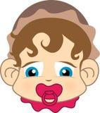 Bambino sveglio illustrazione di stock