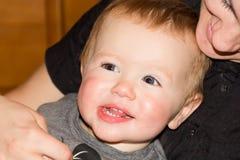 Bambino sveglio 1 anno Immagine Stock Libera da Diritti