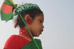 Bambino sveglio che celebra festival immagini stock libere da diritti