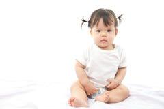 Bambino sveglio della ragazza del ritratto Immagini Stock