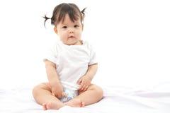 Bambino sveglio della ragazza del ritratto Immagini Stock Libere da Diritti