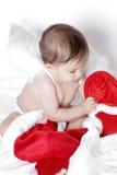 Bambino sveglio di natale immagine stock libera da diritti