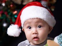 Bambino sveglio di natale fotografia stock libera da diritti