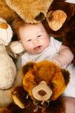 Bambino sveglio di redhead Fotografia Stock