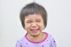Bambino sveglio di sorriso divertente Fotografia Stock Libera da Diritti