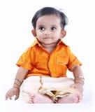 Bambino sveglio indiano fotografie stock libere da diritti