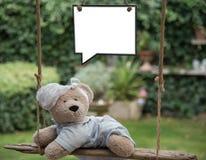 Bambino Teddy Bear Fotografia Stock