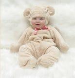 Bambino teddybear Fotografie Stock Libere da Diritti