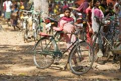 Bambino tribale indiano Fotografia Stock Libera da Diritti