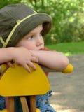 Bambino triste Fotografie Stock Libere da Diritti