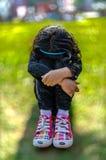 Bambino triste della ragazza Fotografie Stock