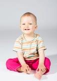 Bambino undici mesi Fotografia Stock Libera da Diritti