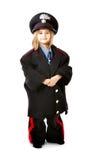 Bambino in uniforme italiana del carabiniere Fotografie Stock Libere da Diritti