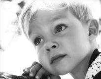 Bambino vago Fotografia Stock Libera da Diritti