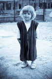 Bambino vestito divertente Immagini Stock