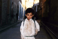 Bambino yemenita Fotografia Stock