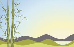 bambo предпосылки Стоковая Фотография RF