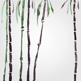 Bamboe in Chinese stijl Royalty-vrije Stock Foto