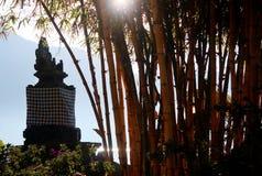 Bamboe en het Heiligdom Royalty-vrije Stock Afbeeldingen