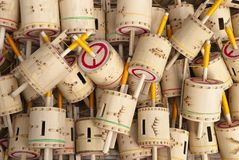 Bamboe Gasing Royalty-vrije Stock Fotografie